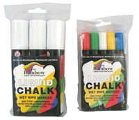 Chalk pens 5x 5 mm nib sign