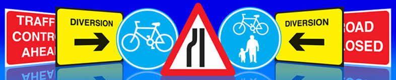 UK cycle lane path signs suppliers