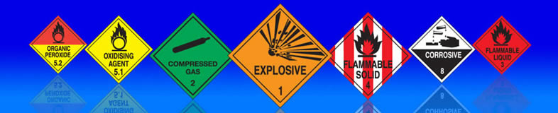 Suppliers of UK hazchem signs, labels and stickers for lorries