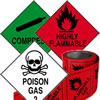 Hazchem labels.