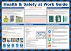 Safety Poster - Health & Safety at Work Guide Laminated Poster sign