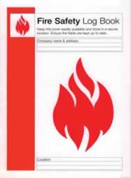 Fire Safety Log Book sign