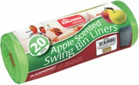 Scented Swing Bin Bags Asst 20 pack sign