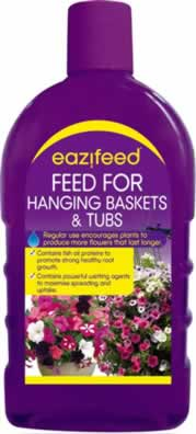 Feed For Hanging Baskets and Tubs