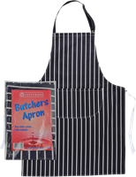 Blue / White Butchers Apron