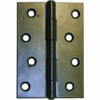 100 mm Epoxy Black 1838 Pattern Steel Butt Hinge 1 pair