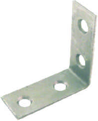38 mm Zinc Plated Corner Brace Packet of 2