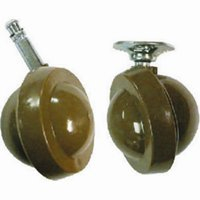 45 mm No 46 Shepherd Type Peg Fix Castors Packet of 2