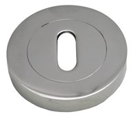 51 mm Satin Chrome Plated Key Hole Escutcheon sign