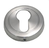 51 mm Satin Chrome Plated Euro Cylinder Escutcheon sign