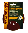 125 mm Assorted Hook and Loop Circular Sanding Discs Packet of 5