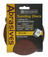 125 mm 60 Self Adhesive Circular Sanding Discs 10 pack