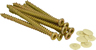 7.5 mm x 62 mm Concrete Frame Screws Packet of 10