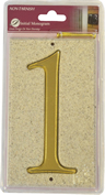 Stone Masonry Effect Number Plaque 1