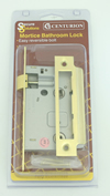 63 mm 2 1/2 inch Electro Brass Mortice Bathroom Lock sign