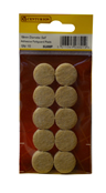 19 mm Diameter Self Adhesive Feltguard Pads Packet of 10