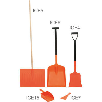 Two Part Motorist Shovel. Lightweight. Non-stick and easy to clean. Rust and rot proof. Virtually unbreakable.