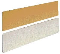 Door kick plates ideal with push pull signs sat29a or sat30a sign.