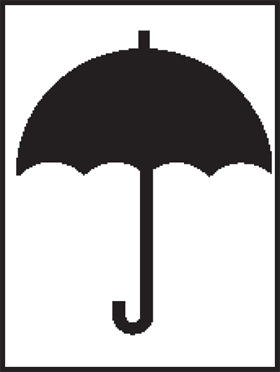 Umbrella sign.