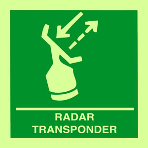 Radar transponder sign.