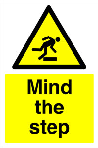 Mind the step + symbol sign.
