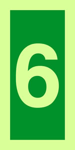 No 6 imo solas symbols sign.