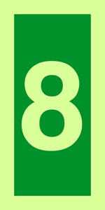 No 8 imo solas symbols sign.