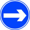 Up arrow sign.