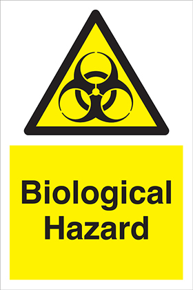 Biological hazard sign.