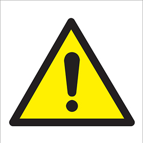 ! hazard warning symbol sign label sign.