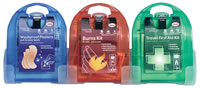 micro range - wash proof plasters burns kit travel kit sign.