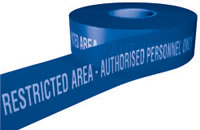 Restricted area-authorised personnel only sign.