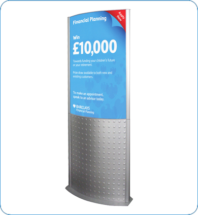 700 x 1000 mm decorative totem with graphics sign