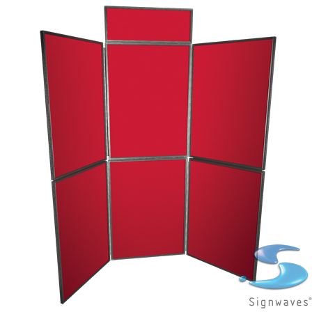 6 panel display kit no graphics sign