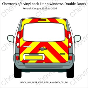 Renault Kangoo Double Doors 2008 to 2016