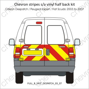 Citreon Despatch Peugeot Expert Fiat Scudo 2003 to 2007