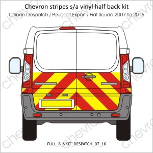 Citreon Despatch Peugeot Expert Fiat Scudo 2007 to 2016